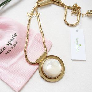 Kate Spade Polish Up Mother of Pearl Necklace